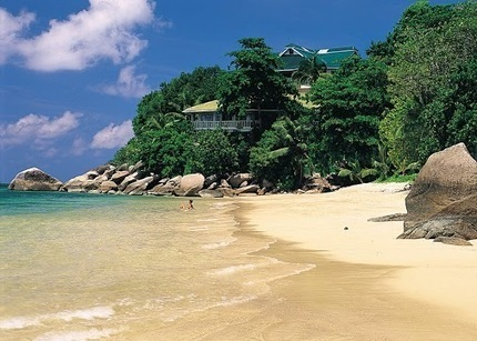 The beach at Black Parrot Resort in the Seychelles … | My Google+ Journal | Scoop.it