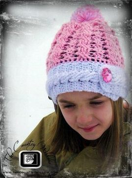 Rockin The Cables Hat- A free Pattern | FREE Crochet Patterns | Scoop.it