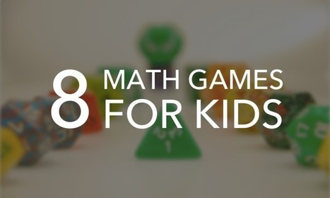 8 Fun and Educational Math Games for Kids | Games and education | Scoop.it