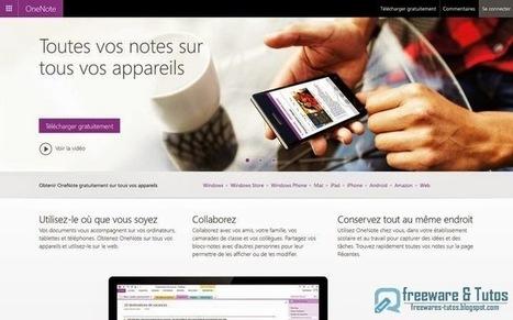 OneNote 2013 (concurrent d'Evernote) devient maintenant entièrement gratuit | Evernote, gestion de l'information numérique | Scoop.it
