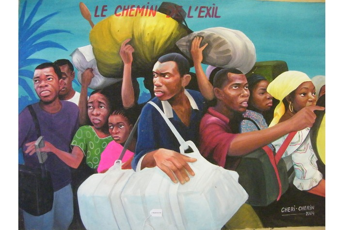 Exhibition of Congolese popular paintings opens at Centre for Fine Arts Brussels   Art Daily   Kiosque du monde : Afrique   Scoop.it