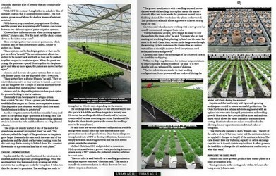 US: Urban Ag Products launches free magazine for vertical and urban farmers | Vertical Farm - Food Factory | Scoop.it