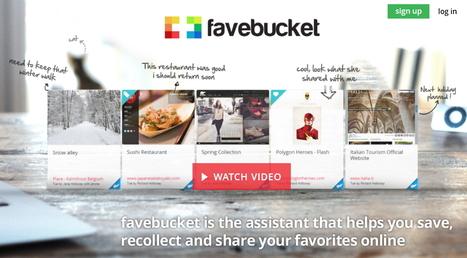 Favebucket : votre assistant web pour sauvegarder, collecter et partager vos favoris en ligne | Le Top des Applications Web et Logiciels Gratuits | Scoop.it