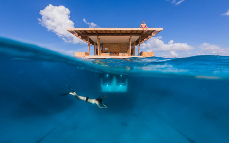 Manta Resort, par Genbert Underwater Hotel | Architecture pour tous | Scoop.it