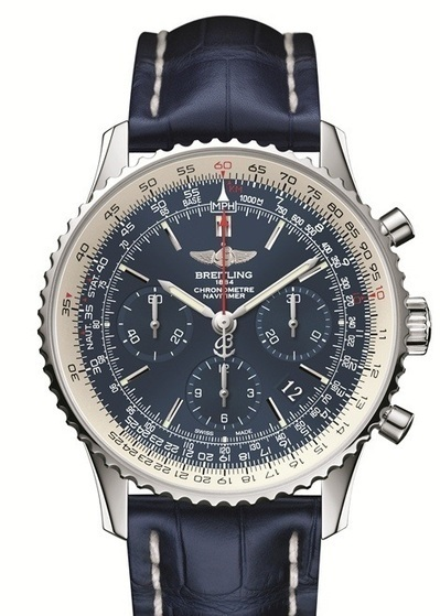 Breitling Navitimer Blue Sky (60th Anniversary of Navitimer) | Wristwatches | Scoop.it