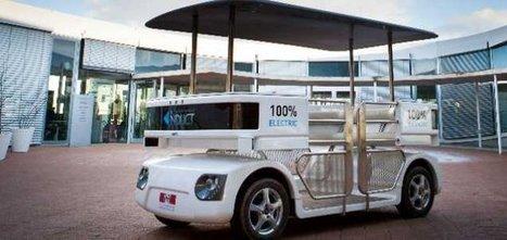 Navia : le premier véhicule sans chauffeur commercialisé est français | Mobilité & Géolocalisation | Scoop.it