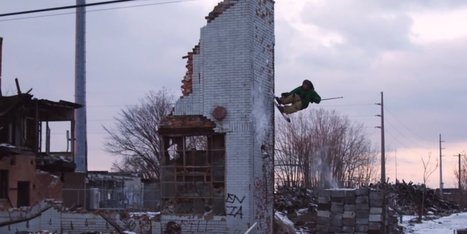People Are Skiing In Detroit's Abandoned Buildings | Strange days indeed... | Scoop.it