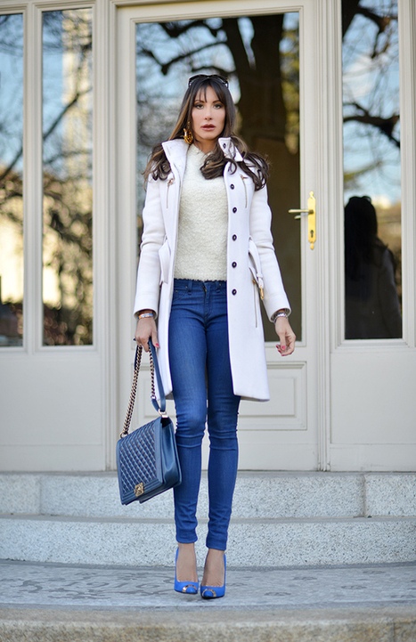 Electric Blue outfit with Touches | Fashion blog di moda | Scoop.it