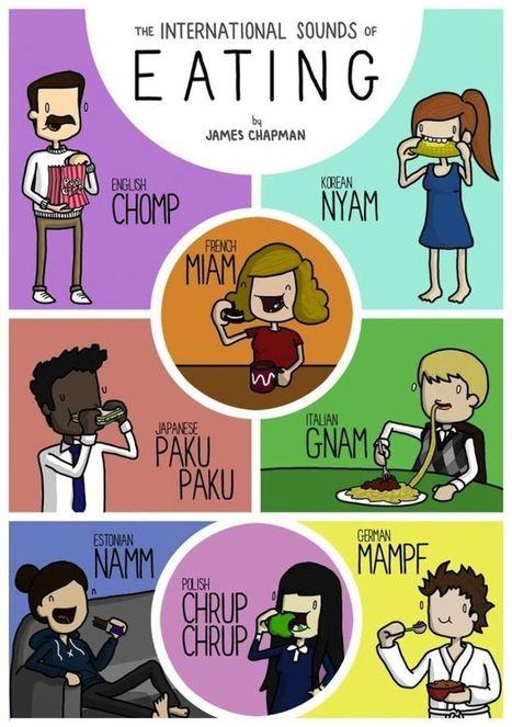 Et vous, comment dites-vous « miam » dans votre langue ? | Free Resources For Teachers of  French | Scoop.it