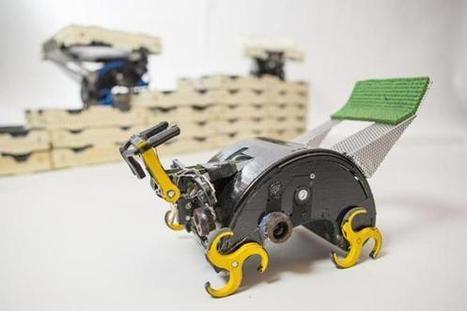 Swarm robotics challenges smart machines - Boston Globe | Autonomous Robots | Scoop.it
