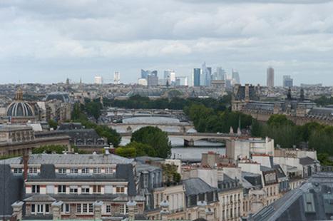 « A vol d'oiseau, Paris vu d'en haut » | Epic pics | Scoop.it
