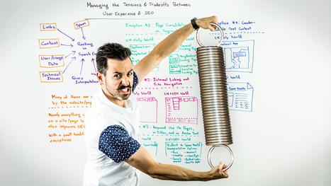 Managing the Tensions & Tradeoffs Between UX & SEO - Whiteboard Friday | SEO 101 for Marketers | Scoop.it