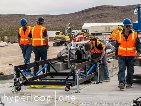 Hyperloop transport edges closer to reality with live demo, new partnerships - TechRepublic | Chief Technologist Cloud Strategy | Scoop.it