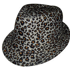 Woolen Leopard Print Trilby Hat | Product We Love | Scoop.it