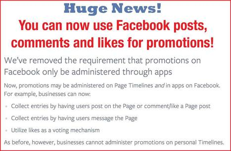You can now run CONTESTS on your Page without a third party app!! | FACEBOOK UPDATES FOR MALTA | Scoop.it