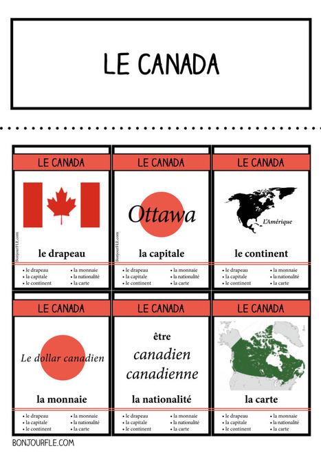 7 familles – pays francophones – 1 La francophonie | Education | Scoop.it