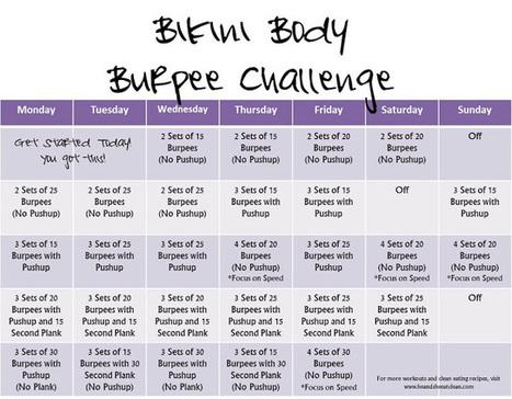Monthly Challenge :: Bikini Body Burpee Challenge | Alternative health | Scoop.it