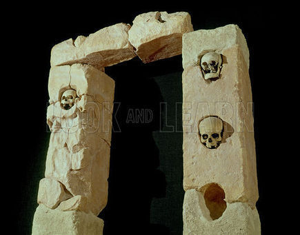 Doorway with Skulls | Archaeology News | Scoop.it