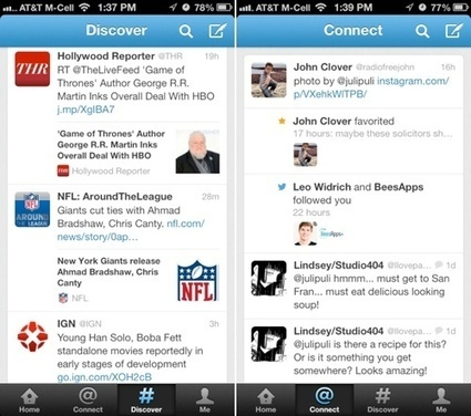 Twitter for iOS Updated with Search and Discover Redesign | iPhones and iThings | Scoop.it