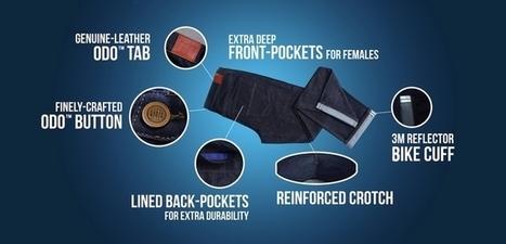 Odo, un pantalon futuriste qui n'a pas besoin d'être lavé, se finance sur Kickstarter | giulian | Scoop.it