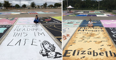 High School Seniors Paint Their Own Parking Spots | Xposed | Scoop.it