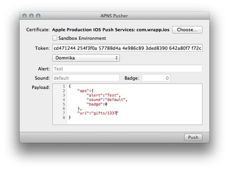 APNS-Pusher - a simple cocoa app to send pushes via APNS | PandaLit | Scoop.it