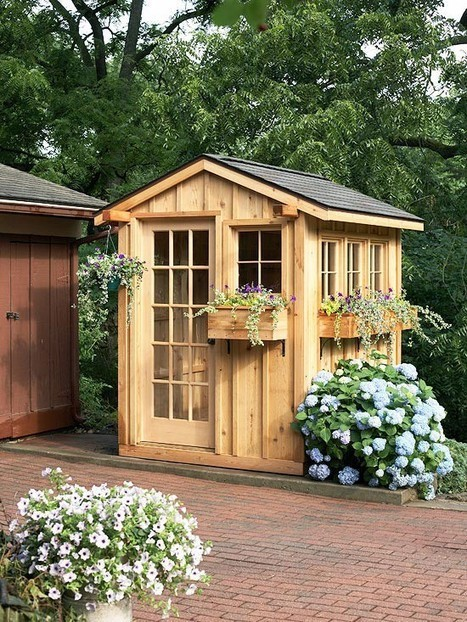 outside | Garden Sheds | Scoop.it