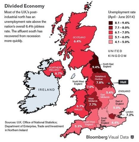 """London Wealth Masks Northern Poverty in Two-Speed U.K.   """"GE""""   Global Economy - Küresel Ekonomi   Scoop.it"""