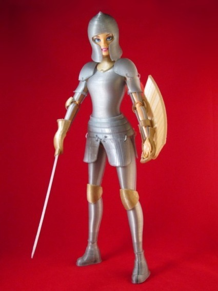 3ders.org - Open source 3D printed medieval armor for Barbie doll | 3D Printer News & 3D Printing News | historical medieval battle | Scoop.it