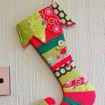19-christmas-stocking-tutorials-ideas.jpg (400x400 pixels) | Christmas stocking ideas | Scoop.it
