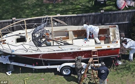 Now officials claim Boston bombing suspect was NOT armed in boat showdown - despite police account of firefight and him 'shooting himself' | Criminal Justice in America | Scoop.it