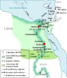 Periodo Arcaico de Egipto : Historia Universal   Viaje hacia la cultura egipcia   Scoop.it