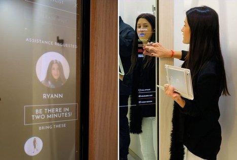 Rebecca Minkoff : plongée dans une boutique newyorkaise ultra-connectée | Best omnichannel experiences & store-digitalisation | Scoop.it