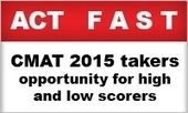 CMAT 2015 takers to act fast, if seeking MBA admission; opportunity for high and low scorers | MBA Universe | Scoop.it