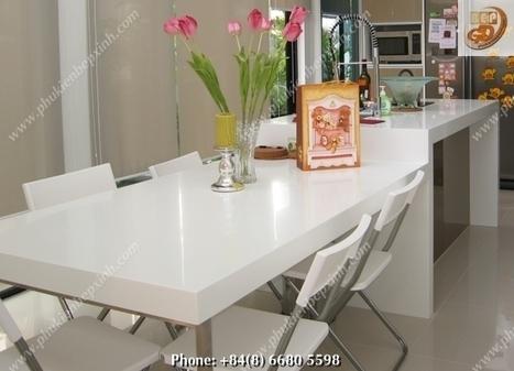 Mặt Đá Nhân Tạo - Solid Surface | Sản phẩm phụ kiện bếp xinh, Phụ kiện tủ bếp, Phụ kiện bếp, Phukienbepxinh.com | MẶT ĐÁ NHÂN TẠO DÙNG CHO TỦ BẾP - MẶT ĐÁ  SOLID SURFACE | Scoop.it