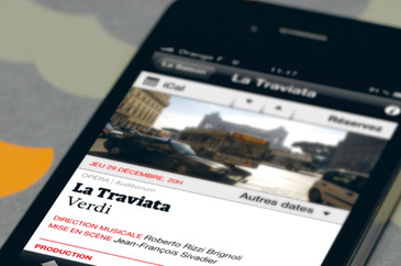 Opéra of Dijon on mobile (article in FR) | digital technologies in classical music & opera | Scoop.it