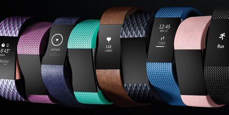 Fitbit Charge 2, le bracelet connecté multisports avec score cardio - Web des Objets | Quantified Self | Scoop.it