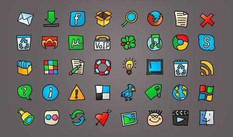 Web Cartoon, un set de iconos para la web con estilo cartoon | Recull diari | Scoop.it