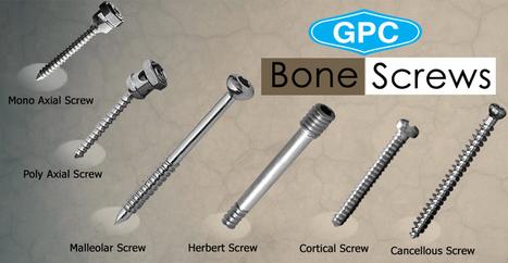 Types of Orthopedic Bone Screws | Orthopedic Implants | Orthopaedic Surgical Instruments | Orthopedic Plates & Screws | Scoop.it