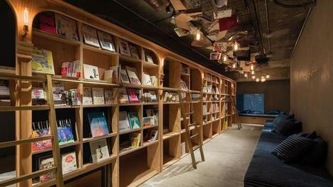 Dormir dans une bibliothèque: la nouvelle tendance | Bibliothèque et Techno | Scoop.it