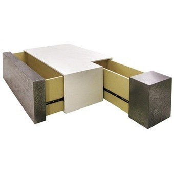 Table basse b ton cir et b eacut - Table beton cire fly ...