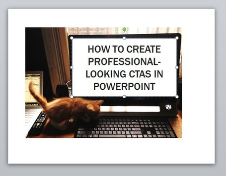 How to Create Top-Notch Visual Content in PowerPoint [Tutorial] | Debra's Social Media Resources | Scoop.it