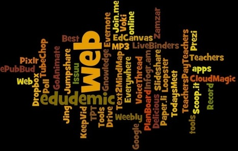The 30 Best Web 2.0 Tools For Teachers (2012 Edition) - Edudemic | E-Learning - ICT innovation | Scoop.it