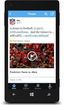 NFL Strikes Large-Scale Deal With Twitter To Share Highlights, Other Material - SportsBusiness Daily | SportsBusiness Journal | SportsBusiness Daily Global | Collection #2 | Scoop.it