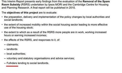 Bedroom Tax DWP report - immediate comments eg arrears up £140m | POLITICS | Scoop.it