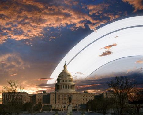 Así serían nuestros paisajes si la Tierra tuviera anillos como los de Saturno (IMÁGENES) | Los misterios del Universo | Scoop.it