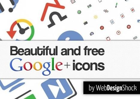 204 iconos gratuitos inspirados en Google Plus | Aplicaciones y Herramientas . Software de Diseño | Scoop.it