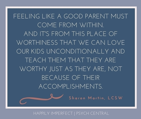 There's No Such Thing as a Perfect Parent | Opvoeden tot geluk | Scoop.it