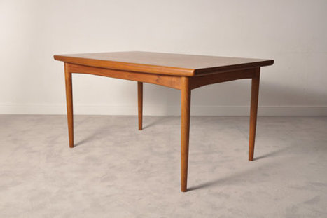 Danish teak extendable dining table | whats been spotted on etsy today? | Scoop.it
