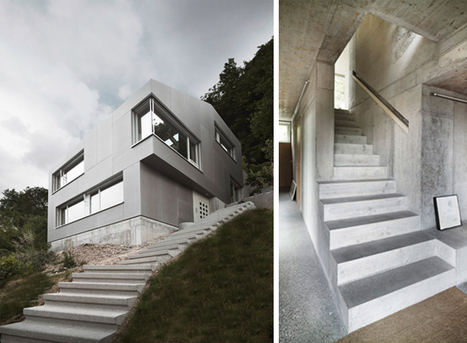 Afgh Architects: A New Hillside Home | sustainable architecture | Scoop.it